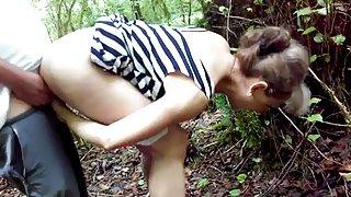 Skogen anal sex
